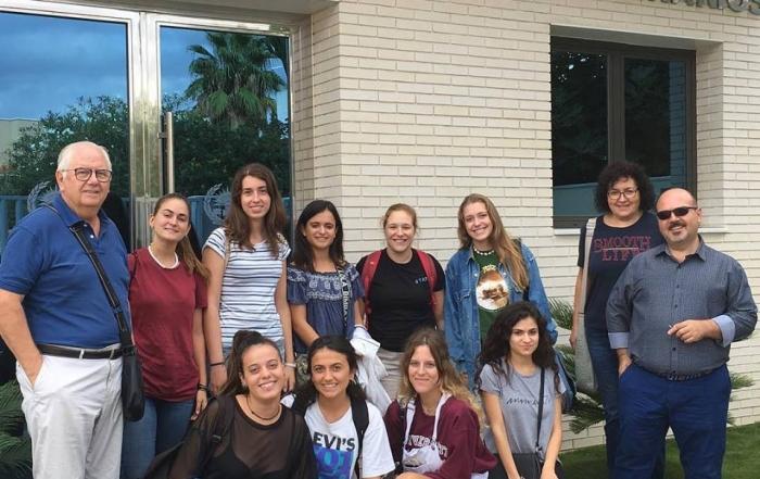 181008 Visita de los alumnos de la Facultad Veterinaria de Murcia