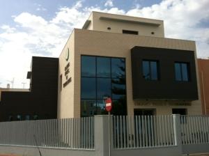 Obras nueva sede 2013: edificio terminado