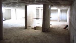 Obras nueva sede 2012: Vista interior sin revestimiento