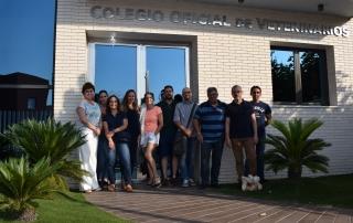180706 Algunos de los asistentes al último curso del COLVET Almería (2)