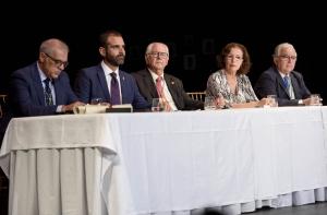 Fidel Astudillo, Ramón Fernández-Pacheco, Emilio Gómez-Lama, Gracia Fernández y Antonio Marín.