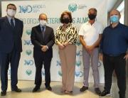 200925 Yasmina Domínguez, Alberto Consuegra , Javier Priego Encinas, Antonio Gallego y Juan José Díaz